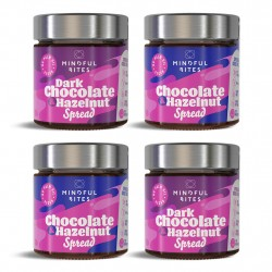 Dark Choc Hazelnut & Choc Hazelnut Spread 4-Pack