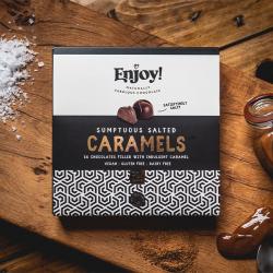 Salted Caramels Box 16 | Vegan