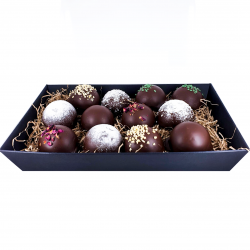 Chocolate Teacake Hamper - 12 teacakes