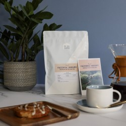 Blue Coffee Subscription Bag