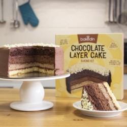 No Fuss No Waste Chocolate Layer Cake Baking Kit