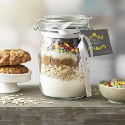 Vegan Smarties Cookie Mix Jar