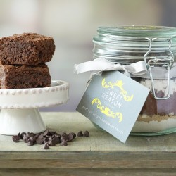 Dairy & Gluten Free Brownie Mix Jar