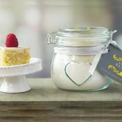 Small Vegan Vanilla Cake Mix Jar