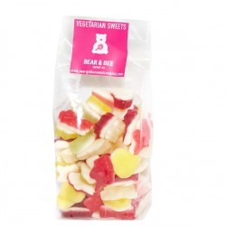 Vegetarian Mini Soft Jelly Texture Sweets Bag 500g