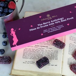 The Berry Anthology: Pates de Fruits with 70% Real Fruit