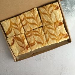 Lemon Curd Vegan Blondies (Box of 6)