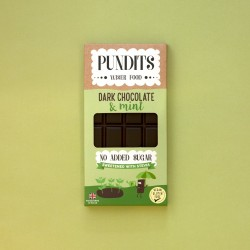 Handcrafted No Added Sugar Vegan Dark Chocolate & Mint Bars (3 bars)