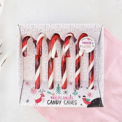 Alcoholic Mulled Wine Candy Canes (Set of 5)