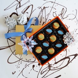 Nono Cocoa Vegan Spicy Orange Chocolate Box