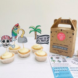 Pirate Bake & Design Party Bags