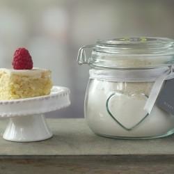 Small Vanilla Cake Mix Jar