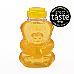 Raw Hungarian Acacia Honey Bear