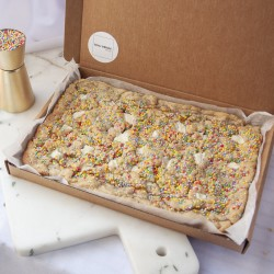 Vegan Cookie Slab 'Birthday Cake Flavour' | Letterbox gift