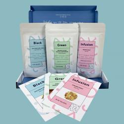Blue Tea Subscription Bag