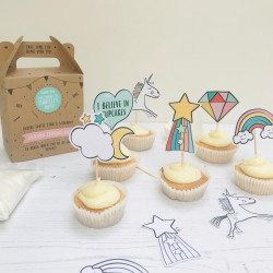 Unicorn Bake & Design Party Bags