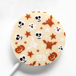 Halloween Lollipop - White Chocolate (Pack of 5)