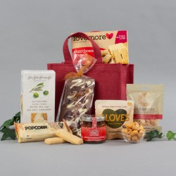 Gluten and Wheat Free Jute Bag Gift Hamper