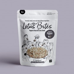 Salt and Pepper Popped Lotus Seeds (Multipack)