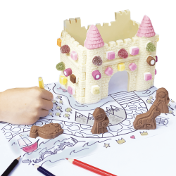 Decorate Your Own Chocolate Castle
