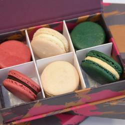 Christmas Macaron Selection Box