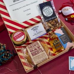 Christmas Letter Box Hamper with Jura Single Malt Whisky