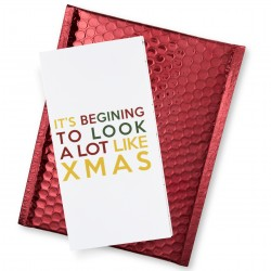 Christmas Tipsy Drink Cards - Sloe Gin Letter Box Gift
