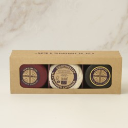 Godminster Triple Cheddar Collection - Round