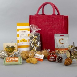 The Vegan Jute Bag Gift Hamper