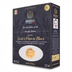 Meal Kit for 4 'Cacio e Pepe in Blues' by Andrea Larossa (Michelin Star Chef)