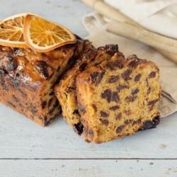 Tangy Handmade Whisky & Orange Fruit Cake (500g)