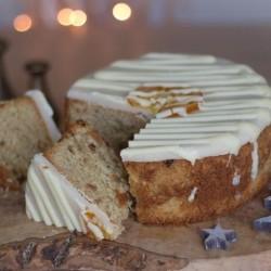 Handmade White Christmas Cake (600g)