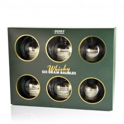 Colourful Whisky Baubles (18cl, 42.9%)