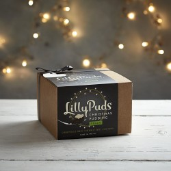 LillyPuds Premium Vegan and Gluten Free Christmas Pudding