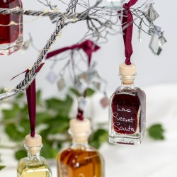 Personalised Liqueur Christmas Baubles (Set of 5)