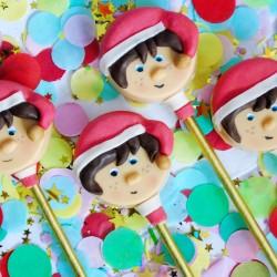 Elf cakesicle