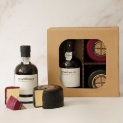 Godminster Black Truffle After Dinner Port Gift Set - Round