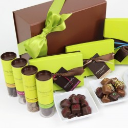 Luxury Christmas Chocolate Hamper Gift