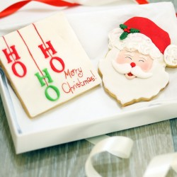 Personalised Christmas Biscuit Card Gift Box