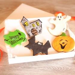 Personalised Halloween Cookies Gift Box