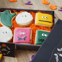 Halloween Indulgent 'Monster & Ghost' Biscuit Box