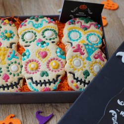 Halloween Indulgent 'Day of the Dead' Biscuit Box