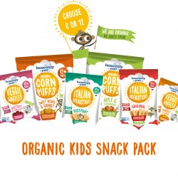 Organic Snack Selection for Kids 12Months+