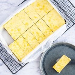 Raw Gluten Free and Vegan Lemon Tart Tray (14 Slices)