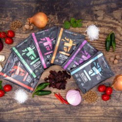 BEEFit Snacks Flavour Fest Biltong of Our Award Winning Beef Biltong (6 packs)