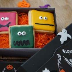 Halloween Luxury 'Monster' Biscuit Box