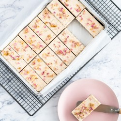Raw Gluten Free & Vegan Rose Tart Tray (14 Slices)
