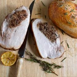 Stuffed Bronze Turkey Breast Roast