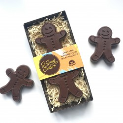 Dairy Free Chunky Gingerbread Men