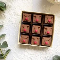 Christmas Milk Chocolate Reindeers